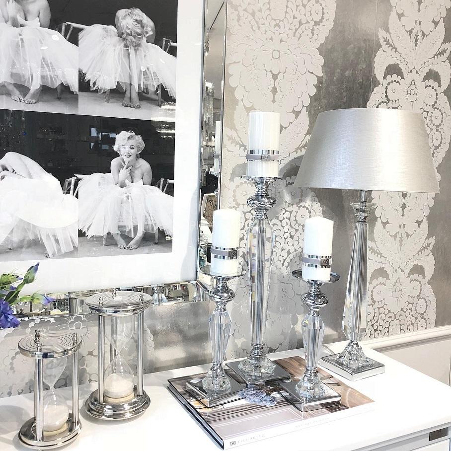 lampy glamour do salonu